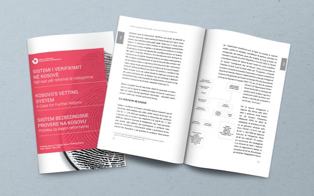 CRDP Kosovo's Vetting System publication preview